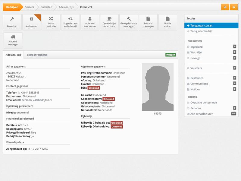 Profiel software